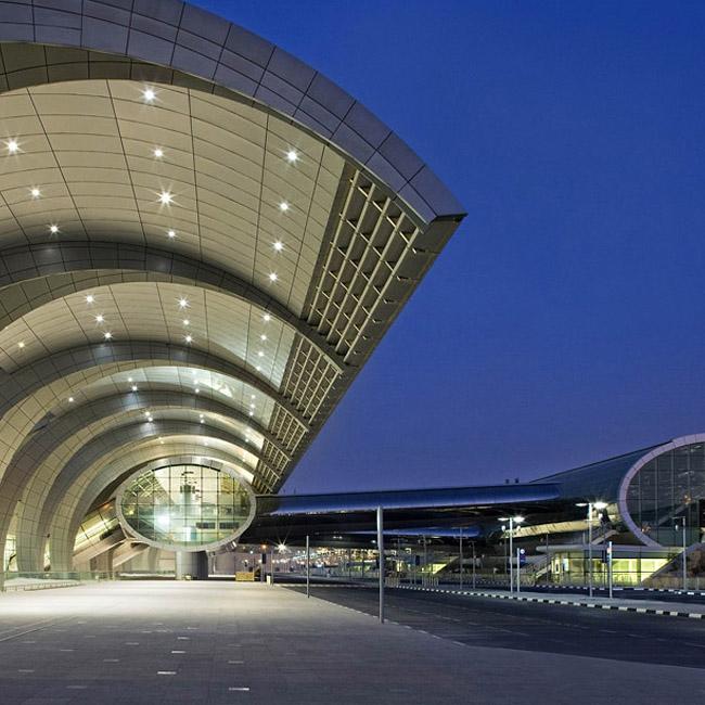Aeroporto Emirati Arabi : Realizzazioni impianti audio tutondo